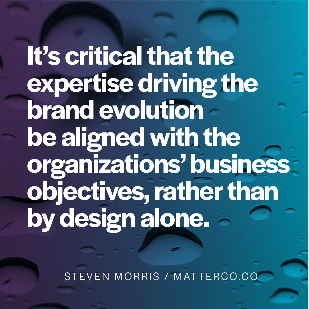 The Only Reason Brands Evolve