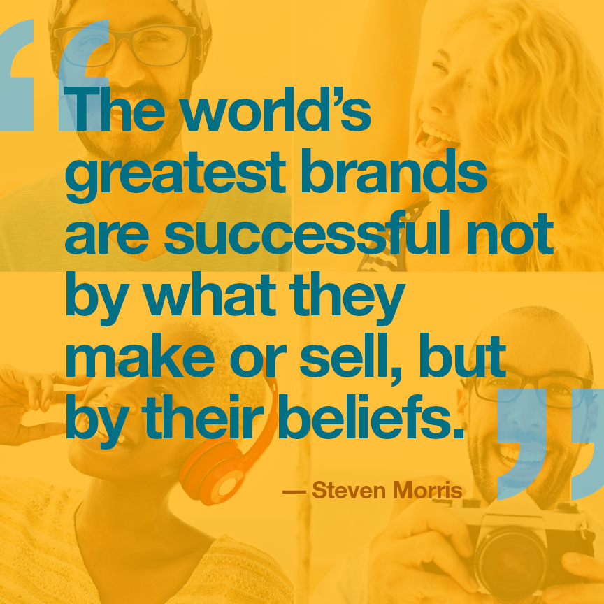 The World's Best Brands are Driven By Beliefs.