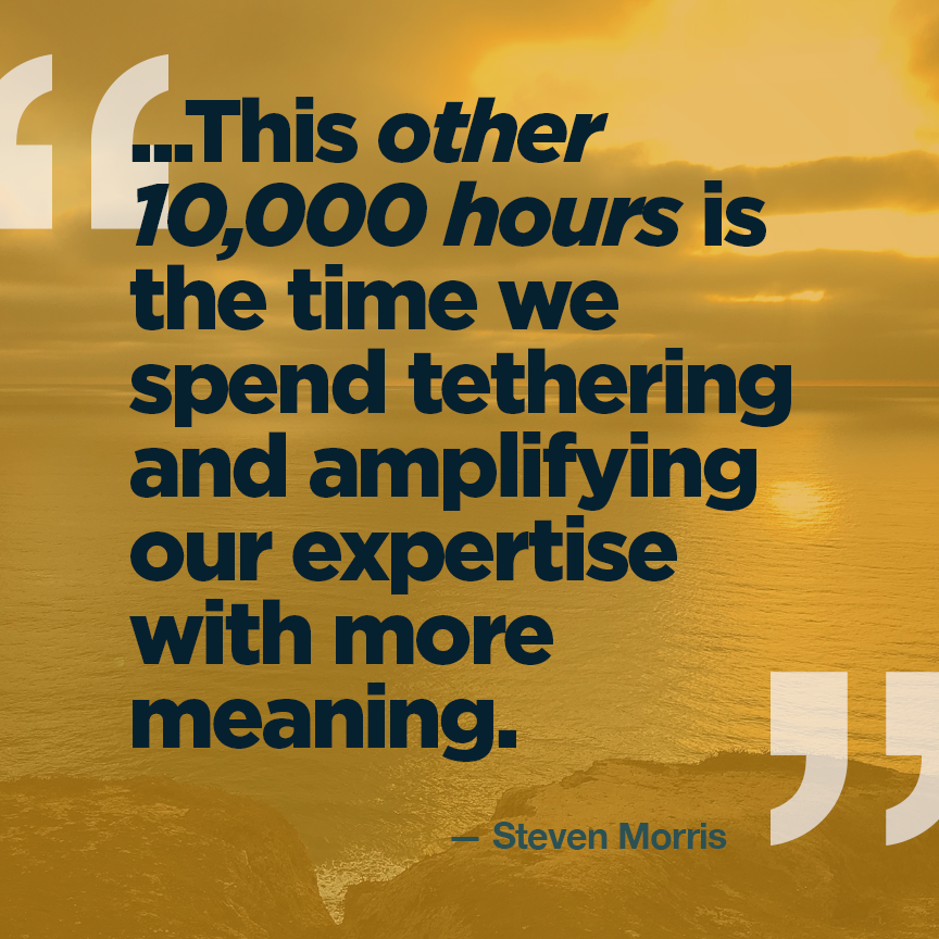 The Other 10,000 Hours.