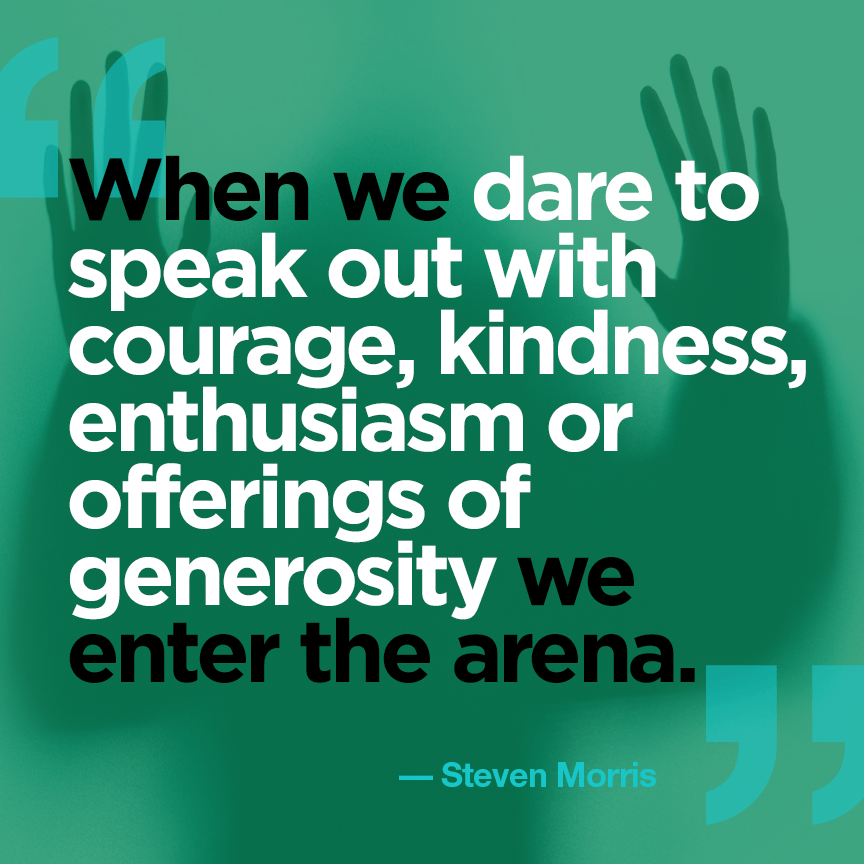 The Courage of Generosity