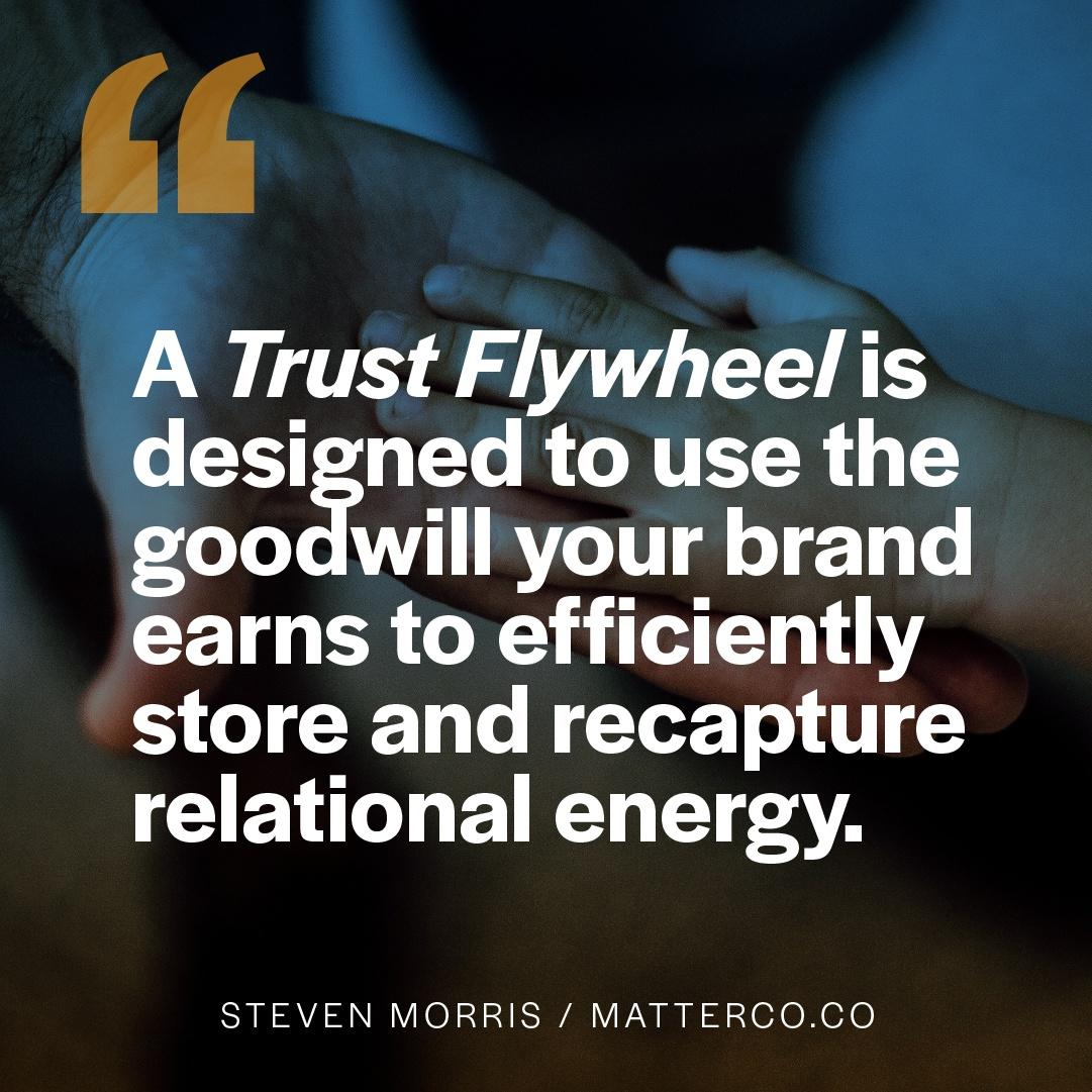 Turning Your Trust Flywheel