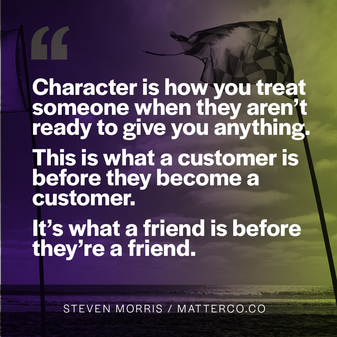 Your Character is Your Brand