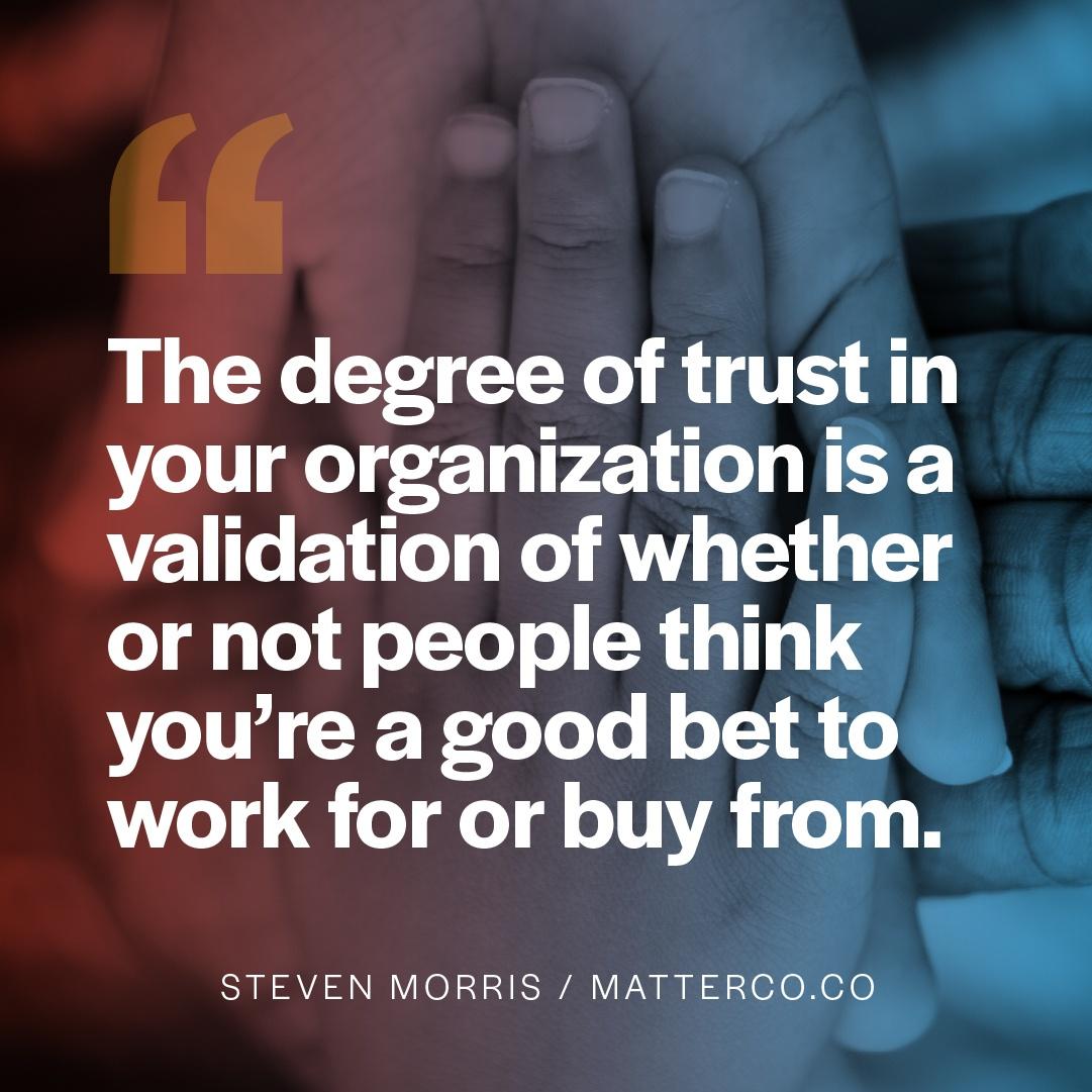 The Economic Impact on Trust