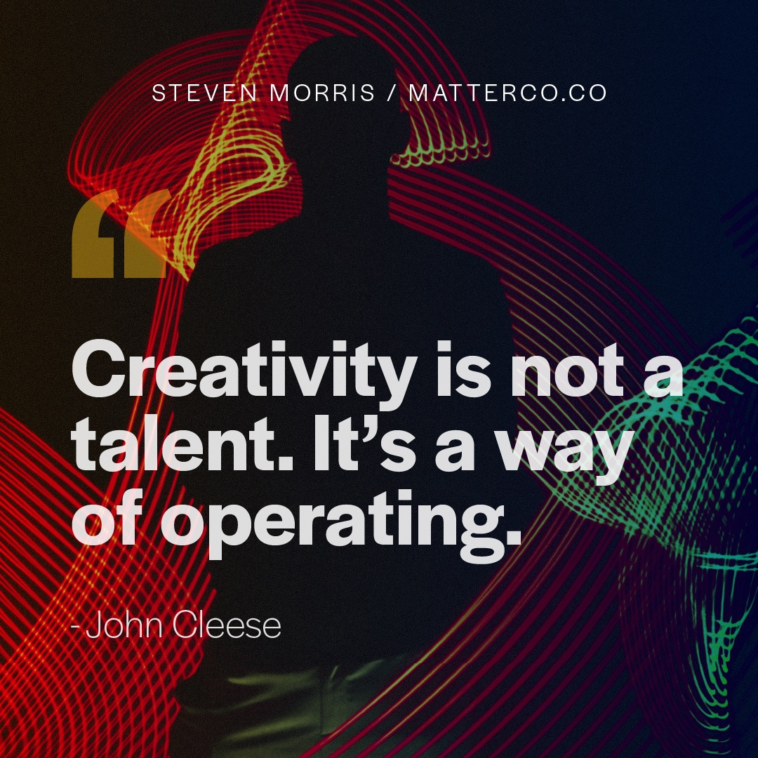 Creativity: A Working Model For Heading Back Into The Office